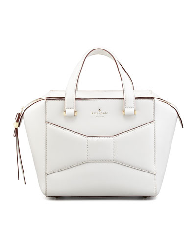 kate spade new york 2 park avenue beau shopper tote bag, cream