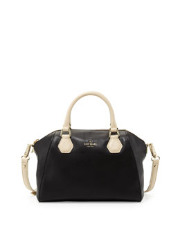kate spade new york catherine street pippa satchel bag, black