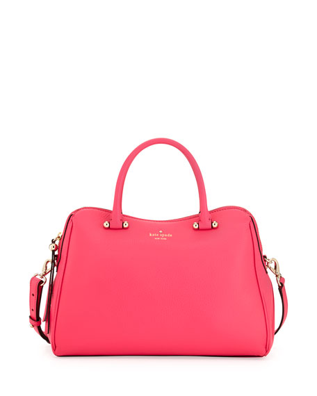 charles street audrey satchel bag, strawberry froyo