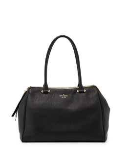 kate spade new york charles street kensington satchel bag, black