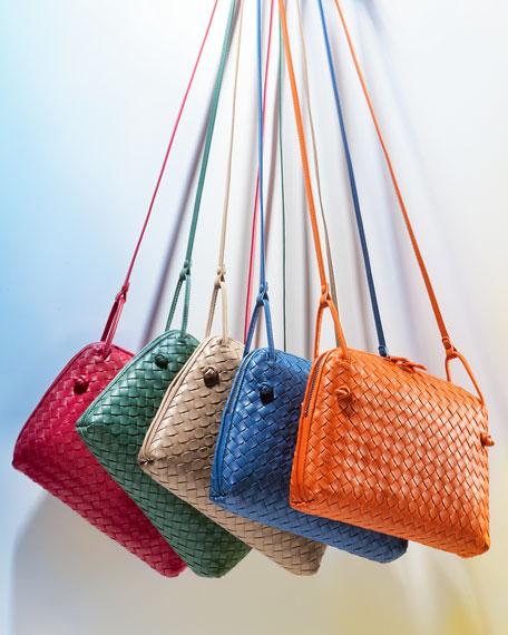 Veneta Small Messenger Bag, Blue