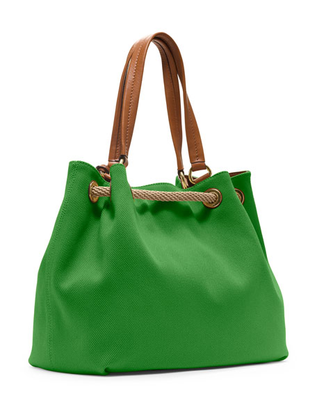 Large Marina Gathered Tote