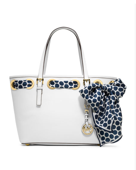 Small Jet Set Scarf Tote