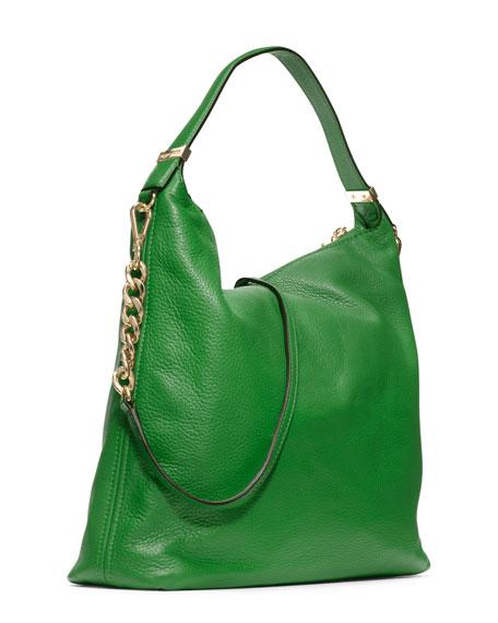 Bedford Tassel Pebbled Shoulder Bag