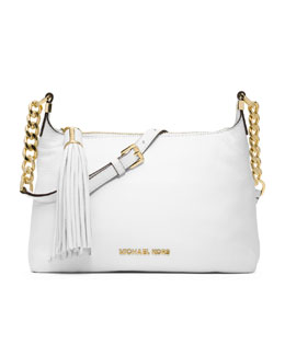 MICHAEL Michael Kors  Small Bedford Tassle Pebbled Messenger Bag