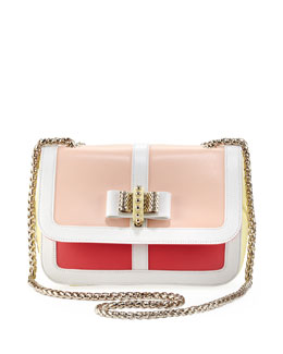Christian Louboutin Sweet Charity Colorblock Shoulder Bag, Multi Colors