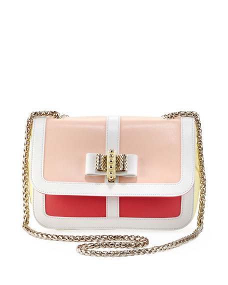 Sweet Charity Colorblock Shoulder Bag, Multi Colors