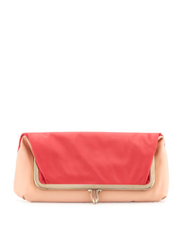 Christian Louboutin Fold-Over Shoulder Bag and Clutch