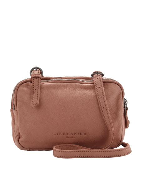 liebeskind maike b leather crossbody bag flesh. Black Bedroom Furniture Sets. Home Design Ideas