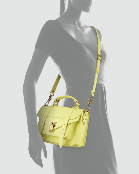 PS1 Mini Satchel Bag, Lemon