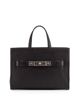 Proenza Schouler PS11 Zip Tote Bag, Black