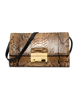 Michael Kors Gia Clutch with Lock