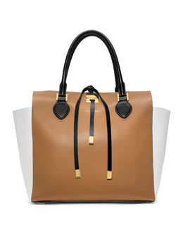 Michael Kors  Large Miranda Colorblock Tote