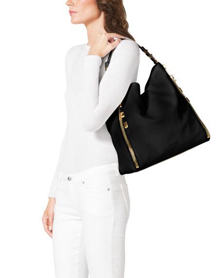 Miranda Zipper Shoulder Bag