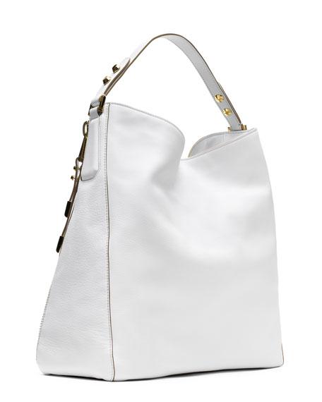 a80bdcae4 Michael Kors Collection Miranda Zipper Shoulder Bag