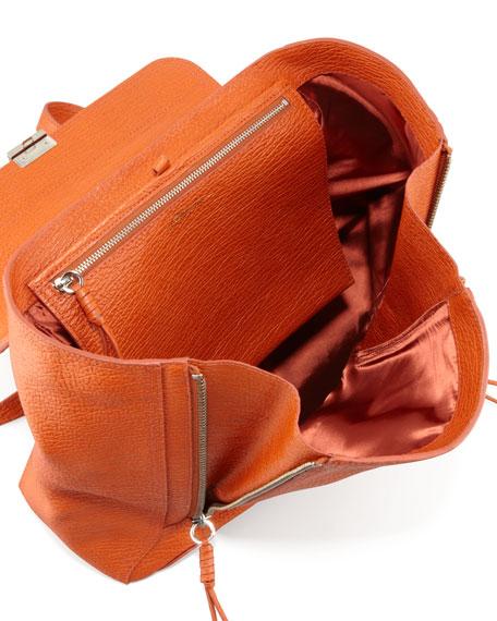 Pashli Zip Backpack, Orange