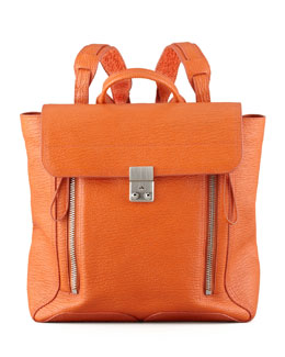 3.1 Phillip Lim Pashli Zip Backpack, Orange