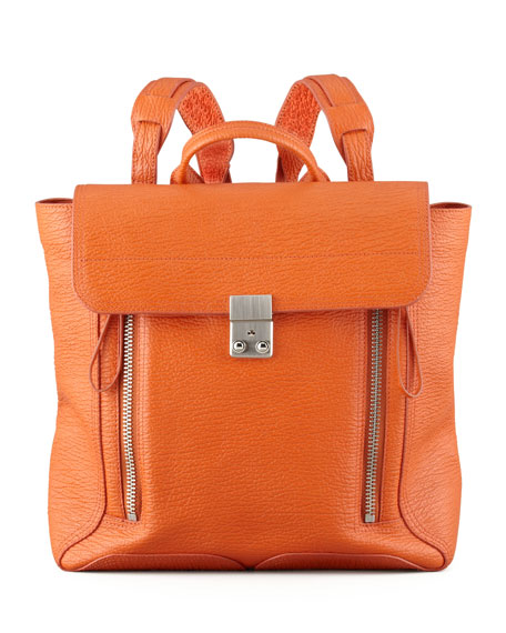 Pashli Zip Backpack, Orange