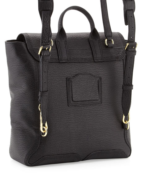 Pashli Zip Backpack, Black