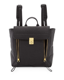 3.1 Phillip Lim Pashli Zip Backpack, Black