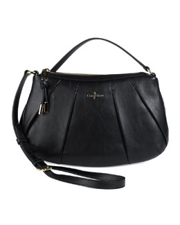 Cole Haan Adele Pleated Crossbody Bag, Black