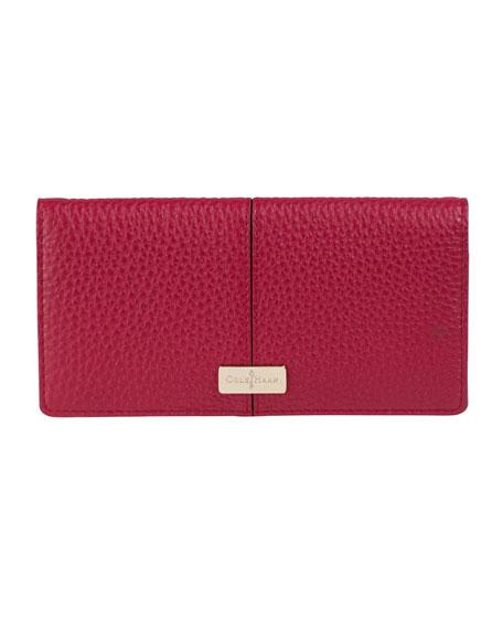 d8b846fd6c Cole Haan Slim Leather Wallet, Red Velvet