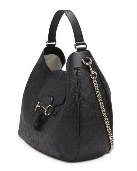 Gucci Emily Guccissima Leather Hobo Bag 8a219cbf0