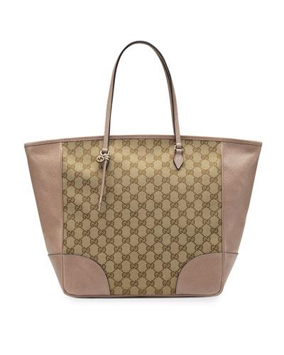 Bree Original GG Canvas Top-Handle Bag, Tan/Nude