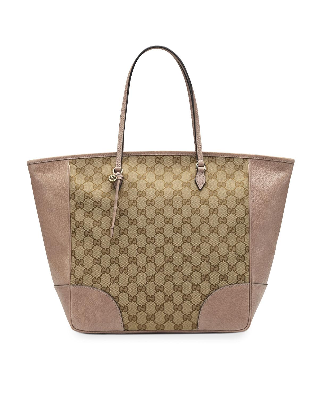 600d7e41204 Gucci Bree Original GG Canvas Top-Handle Bag