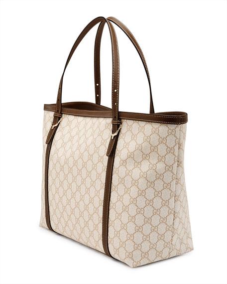 915f051afcb5 Gucci Gucci Nice GG Supreme Canvas Tote Bag, White/Tan