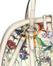 Gucci Nice Flora Leather Top-Handle Bag, White Multi