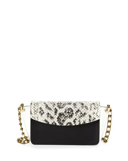 Reed Krakoff Ew Anarchy Anaconda Colorblock Shoulder Bag