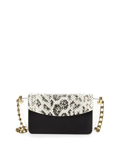 Anarchy Anaconda Colorblock Shoulder Bag