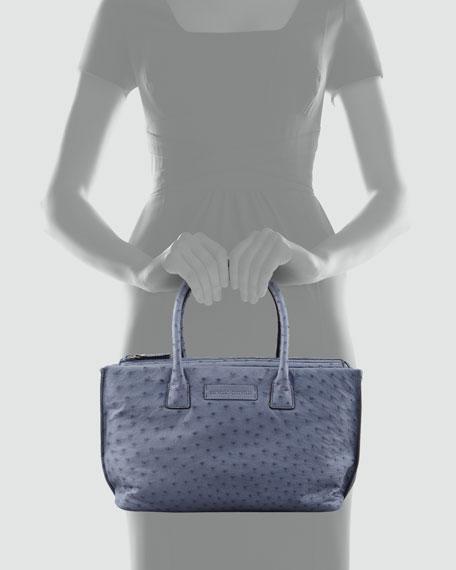 Ostrich Tote Bag, Denim