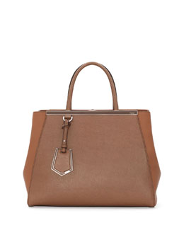Fendi 2Jours Tote Bag, Brown