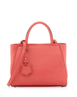 Fendi 2Jours Mini Shopping Tote Bag, Pink