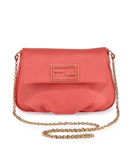 Fendista Pochette Crossbody Bag, Pink