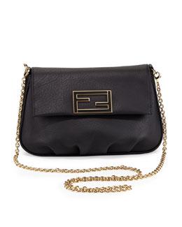 Fendi Fendista Pochette Crossbody Bag, Black
