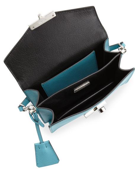 prada green nylon bag - Prada Saffiano Mini Sound Bag, Turquoise (Turchese)