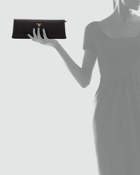 how much is prada saffiano bag - Prada Saffiano East-West Frame Clutch Bag, Black (Nero)