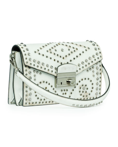 Vitello Vintage Sound Bag, White (Bianco)
