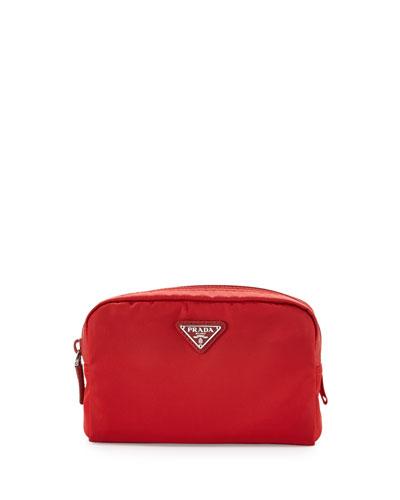 4185a637181e Prada Vela Square Cosmetic Bag