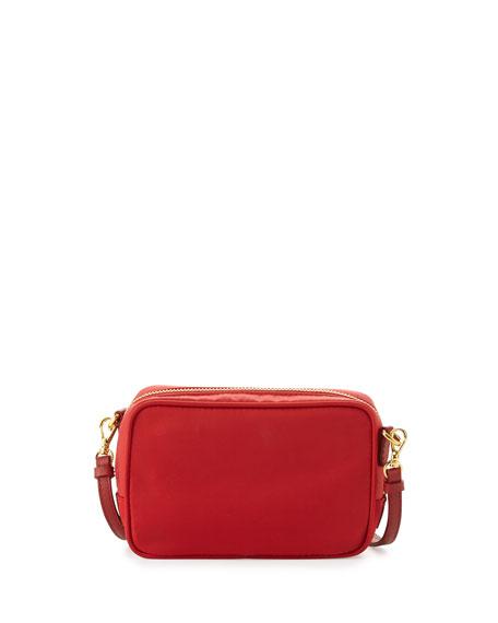 black prada handbag leather - Prada Tessuto Small Crossbody Bag, Red (Rosso)