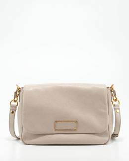 MARC by Marc Jacobs Too Hot to Handle Leather Crossbody Bag, Cream
