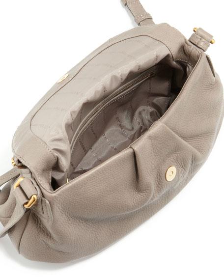 Classic Q Natasha Crossbody Bag, Taupe