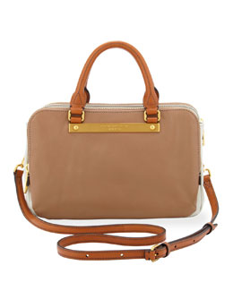 MARC by Marc Jacobs Goodbye Columbus Sylvie Shoulder Bag, Brown