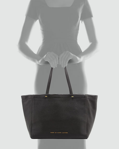What's the T Tote Bag, Black