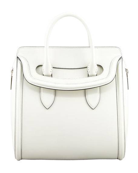 Heroine Flap-Top Tote Bag, Ivory