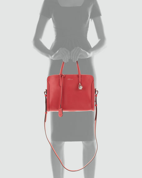 Padlock Zip-Around Tote Bag, Pink