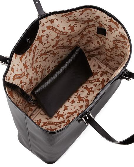 Derby V Large Tote Bag, Black